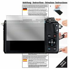 6x Schutzfolie für Canon EOS M6 Folie Displayschutzfolie klar Displayfolie
