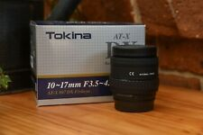 Tokina AT-X 107 AF DX 10-17mm f/3.5-4.5 Fisheye Lens for Nikon
