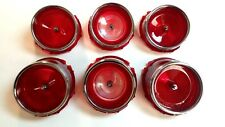 1965 Impala Tail Light Lamp Lens Set of 6 Belair Biscayne