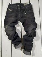 New Diesel Men's Jeans Troxer R9F66 Slim Skinny Stretch Gray RRP $169