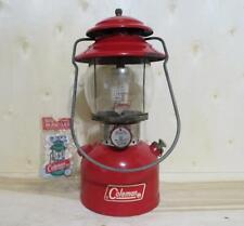 Red Coleman Single Mantle Lantern Model 200A dated 11/71 Nov 1971