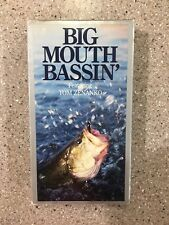 Big Mouth Bassin' vhs with Tom Zenanko instructional