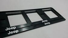 2X JEEP SUPPORTO REGISTRAZIONE AUTO EUROPEO.