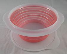 Tupperware B 37 MiniMax Mini Max 950 ml Dose Faltdose Rot / Weiß faltbar Neu OVP