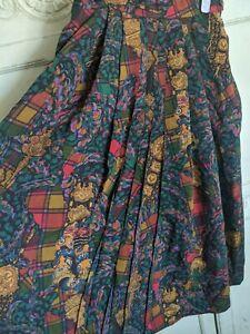 Geiger Vintage Maxi Wool Skirt
