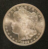 1882-CC HITLIST-40 Morgan Dollar VAM-2 GSA HOARD NGC MS-64 BU Full OGP COA #4005