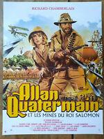 Plakat Allan Quatermain J.Lee Thompson Richard Chamberlain 40x60cm