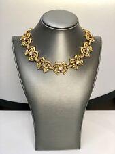 Nettie Rosenstein Victorian Style Gold Tone Necklace