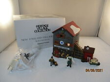 "Dept 56 Heritage Village 1993 New England Series ""Blue Star Ice Co.�"