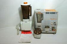 Vintage Moulinex Mixer Blender 2 & COFFEE GRINDER - Boxed
