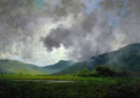 """oil painting 100% handpainted on canvas """"April Showers, Napa Valley"""""""