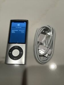 Apple iPod Nano - A1320 - 16GB - 5th Generation Silver - Perfect Condition!