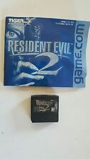 Resident Evil 2  Game for Tiger Game.com with Manual no box Never Used