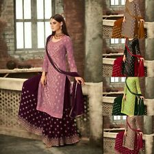 Salwar Anarkali Suit Georgette with Embroidery with Stone work Party wear Dress