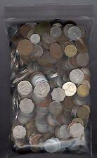 5lbs (2.27 Kilograms) of Mixed Foreign Coins - Bulk Lot