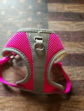 Top Paw Xtra Xtra Small XXS Reflective Adjustable Comfort Dog Harness. Pink