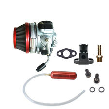 Carburetor&Red Gas Power Boost Bottle For 66cc 80cc Engines Motorized Bicycle