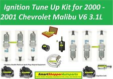 Ignition Tune Up Kit for 2000-2001 Chevrolet Malibu V6 Ignition Coil Air Filter