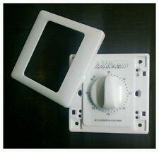 E20 12V 220V AC Mechanical Timer Relay Switch 0-60 Min Delay Modular Face Plate