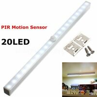 20 LED Wireless PIR Motion Sensor Drawer Light Closet Lamp Cabinet Night Light