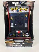 PAC-MAN Arcade1Up Counter-Cade 2 Games in 1 Tabletop Design Cabinet Machine New