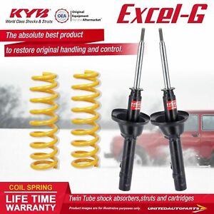 Front KYB EXCEL-G Shock Absorbers STD King Springs for HONDA Civic SL 1.3 I4 FWD