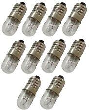 10x ampoules E10 12V 4W