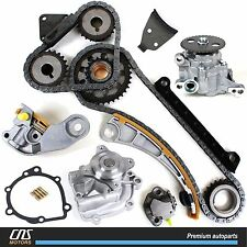 Timing Chain Kit w/ Water Pump & Oil Pump 96-07 Suzuki Chevrolet 1.8L 2.0L 2.3L