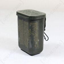 Original US Army Waterproof Box - American Vintage 1980s Military Surplus Hiking