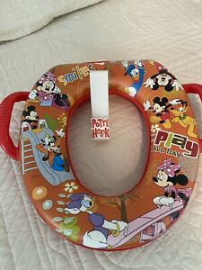 Ginsey Home Solutions MICKEY MOUSE Padded Potty Seat With Potty Hook
