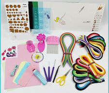 Paper Quillling Professional Craft Kits with 1560 Strips and 11 tools