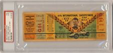 1963  Indianapolis Indy 500 Ticket PSA