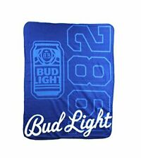 "Bud Light ""Pop Can"" Fleece Blanket, 45 x 60-inches"
