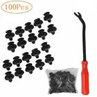 100 Pcs Engine Cover Grille Bumper Retainer Clips For 90467-07211 Toyota Lexus