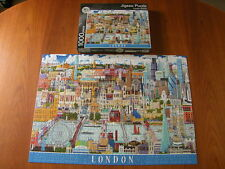 MARKS & SPENCER PUZZLE London Skyline - 1000 Piece Jigsaw - Complete - VVGC
