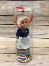 Vintage International Doll Holland Dress Dutch Doll Blonde Sleepy Eyes