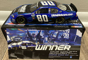 2009 Tony Stewart Nationwide Daytona Race Win Action 1:24 Diecast Car w/ Pin