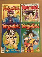 Dragon Ball Z #1, 2, 4 & Dragon Ball #2 (Viz 1998) 🔥 Part 1, 1st DBZ comics