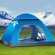 Auto Pop-up Camping Tent 4 Person Outdoor Waterproof Shelter 4 Season Tent