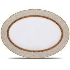 Noritake Odessa Gold 14 Inch Serving Platter