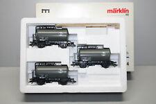 Märklin 4854 Tank Wagon Set Eva Gauge H0 Boxed