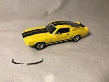 ERTL 1967 Shelby Mustang GT-350 Yellow Blue 1:43 Diecast