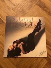"PAULA ABDUL Rush Rush 12"" PICTURE DISC Gatefold Sleeve VUSTY38 Free UK Postage"