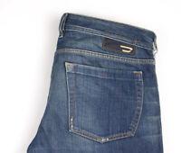 DIESEL Men Zathan Straight Leg Jeans Size W34 L34 APZ827