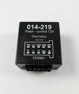 AHK Steuergerät Relais Kontrolle Anhänger Modul 014-219 Flash 12V
