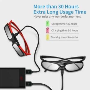 4tlg BOBLOV 3D Active Shutter Brille DLP-Link Glasses für BenQ Home Projektors