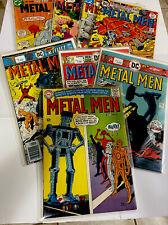 METAL MEN - DC COMICS - LOT OF 8 - 15-45-46-47-49-50-51-54 - VF/NM