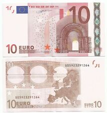 10 EURO S ITALIA J005..DUISENBERG  FDS UNC MOLTO RARA : VALORE 110 €