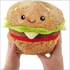 "SQUISHABLE Plush Mini Hamburger 7"" stuffed animal AMAZINGLY SOFT"