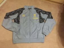 Liverpool training track top jacket size XLB Gray colour Warrior